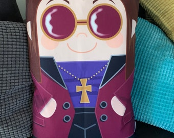 Ozzy Osbourne 'Hero Hugger' Pillowcase Toy Custom Design Rock Star heavy Metal
