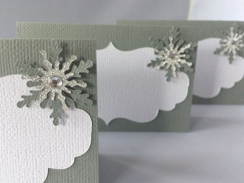 Winter Party Snowflake Baby Shower Snowflake Place Cards Winter Wonderland Food Labels Winter Onederland Labels Snowflake Buffet Cards