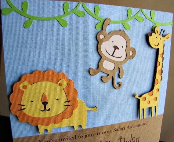safari party invitations jungle party invitation safari birthday
