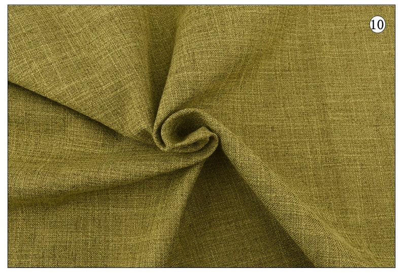 Solid Colors Cotton Linen Fabric for Patchwork QuiltingDIY SewingSofa Table ClothFurniture Cover TissueCushion Meter