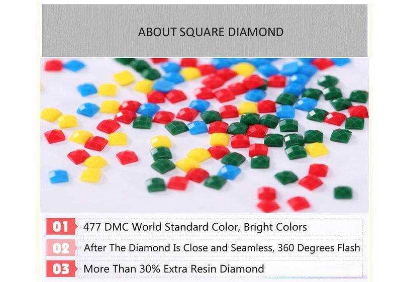 5D DIY Full Drill Square or Round Diamond Painting Cross Stitch Diamond Embroidery Cute Cat Rhinestone Diamond Pictures Needlework
