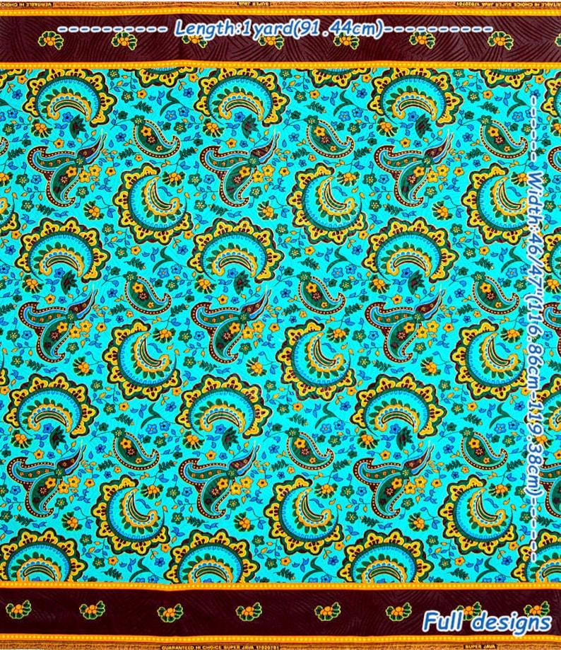 Guaranteed Super Java Ghana Kente Print Fabric  Good Quality  African  Holland Pattern Emboss Cotton Printing
