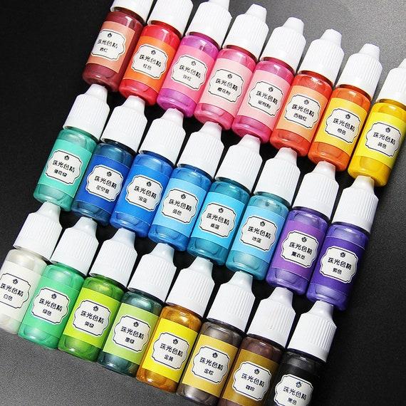 Hedendaags 24 kleuren 10ml vloeibare hars pigment kleurstof UV-hars epoxy | Etsy LV-66