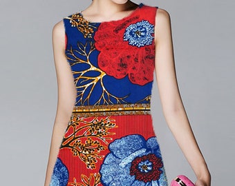 6 Yards Real Veritable Block Wax 100% Cotton Batik Super Quality African Prints Fabric Design Printed Ankara Guaranteed