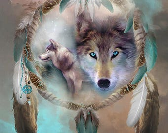 DIY Diamond Embroidery Set Wolf Full Square Drill Diamond Painting 5D Picture of Stones Wall Decor Animals