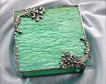 Green and Turquoise gift box