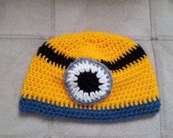 Minion hat for all sizes