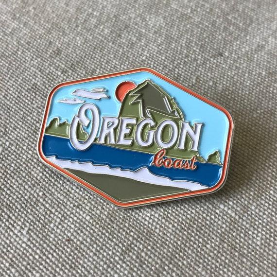 Enamel Lapel Pin Oregon Republic