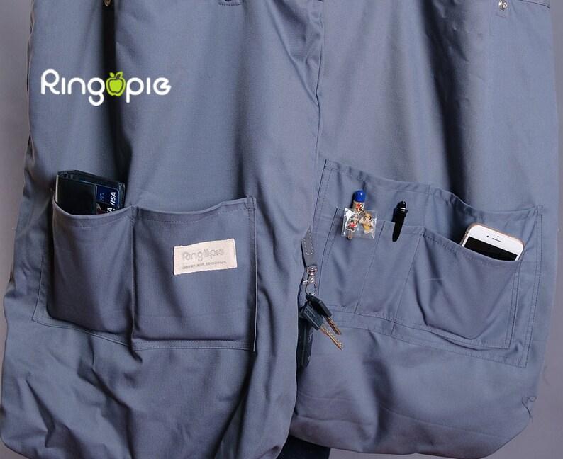 Khaki Diaper BagToteShoulder BagHandbagSchool BagMessenger BagHandmadeNoveltyMarketFor HimFor Her-089