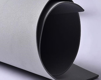 "BazaarImports Foam Sheet 0.50/"" X 15/"" X 15/"" Charcoal"