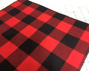 Merveilleux Quick View. Free USA Shipping/Lumberjack Table Runner/Black And Red Gingham  ...