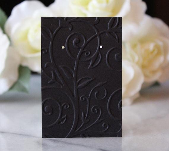Mini Tarjetas De Exhibición De Pendiente Joyería Pendientes Studs-Jardín Flores