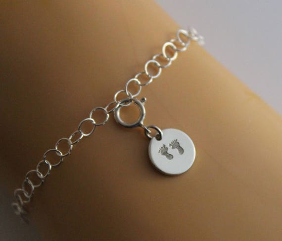 Sterling Silver Foot Charm