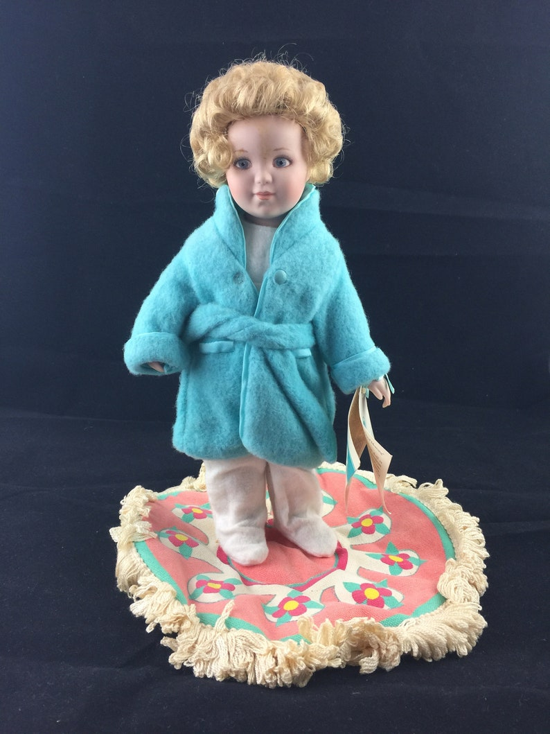 Bessie Peese Gutmann Doll Good Morning 1990 Hamilton Etsy