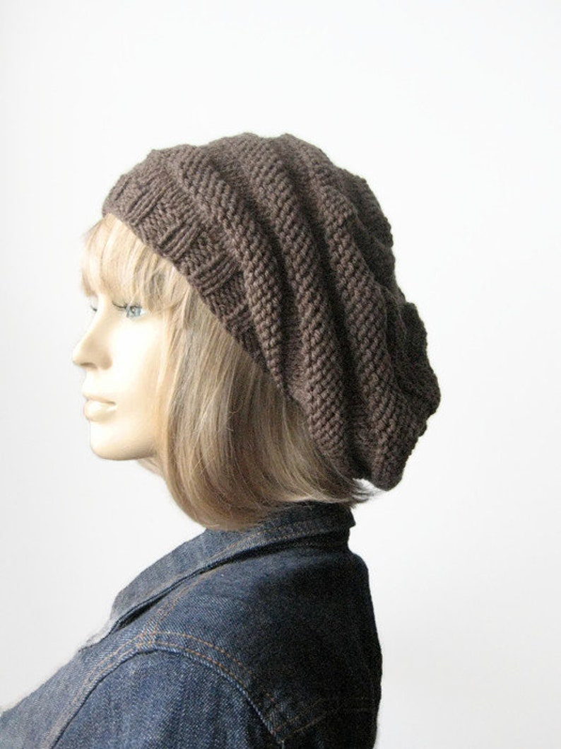 5effe781b66 Beehive Beret Knitting Pattern Instant Download PDF Pattern