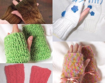 Texting Mitts, Pink Texting Mitts, White Texting Gloves, Coral Texting Gloves, Green Texting Gloves, Touch Screen Mitts, Brown Texting Mitts