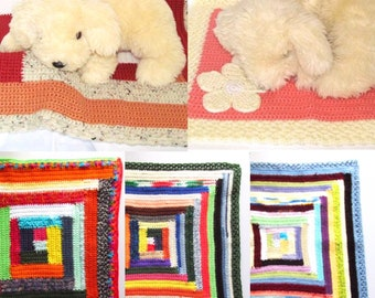Small Baby Blanket, Baby Travel Blanket, Doggy Blanket, Small Dog Travel Blanket, Small Dog Sofa Blanket, Mini Blanket, Small Pet Blanket