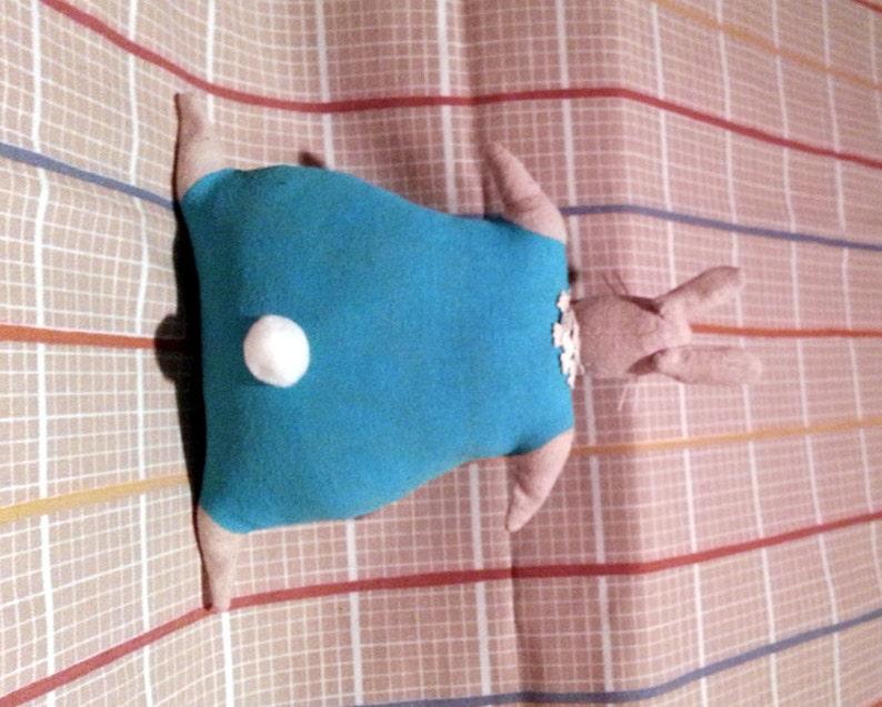 Rabbit Doll~Bunny Doll~Painted Rabbit~Muslin Rabbit~Cotton Tail