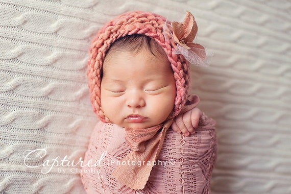 Eskimo Papoose Photo Prop Baby Cocoon Newborn Boy Knitted Sleep Sack Hand Knit Girl Pouch Cacoon Fur Trim Infant Photography Swaddle Sleeper
