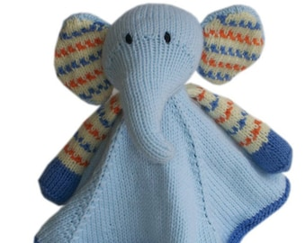 Baby Pears Blanket Buddy PDF knitting pattern
