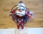 Vintage Native American Navajo Hoop Dancer Kachina Doll - free shipping in USA