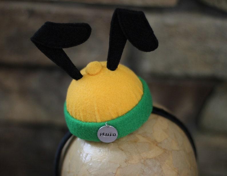 Kinder Wintermütze Pluto Bommelmütze Disney Fleece Jungs Mädchen Geschenkidee