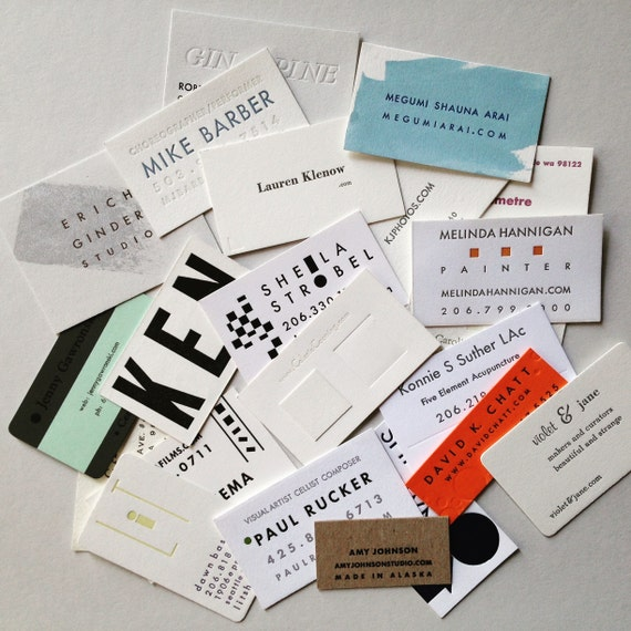 Business Cards Creative Workshop Calling Cards Etsy