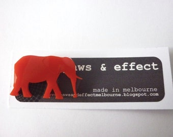 Mini Elephant Brooch