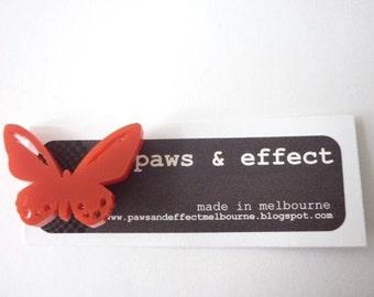 Mini Simple Butterfly Brooch