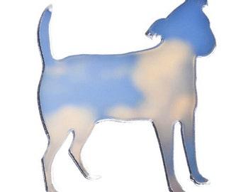 Jack Russell Dog Brooch/ Pin