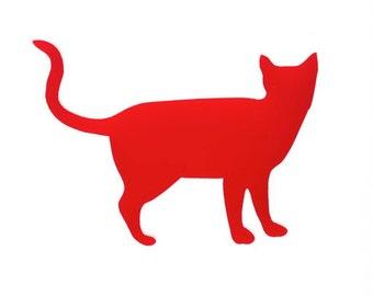 Cat Standing Brooch