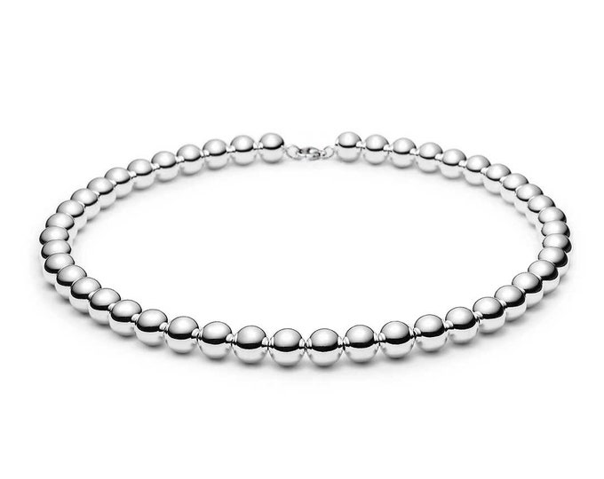 Stainless Steel Beads Necklace