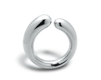 Mother & Child Ring in Stainless Steel by Taormina Jewelry