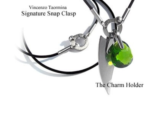 Charm Holder Necklace Modern Design