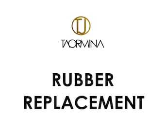 Rubber & Textile Cord Replacement Service for Necklaces and Bracelets by Taormina Jewelry