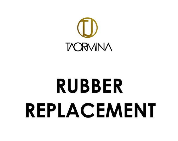 Rubber Replacement Fee for Necklaces and Bracelets