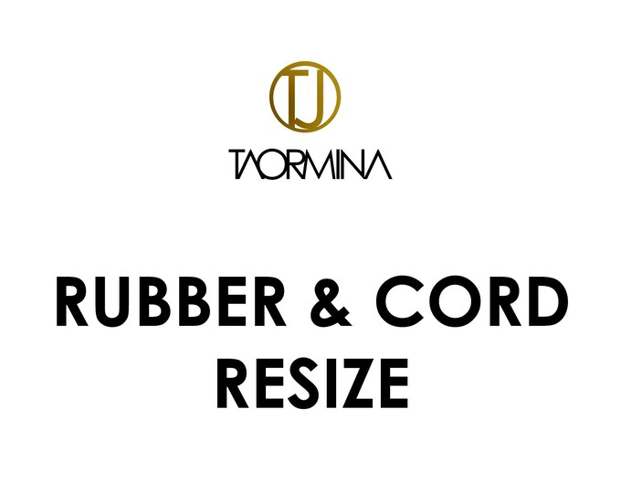 Rubber & Cord RESIZE - Fee and Returns Procedures