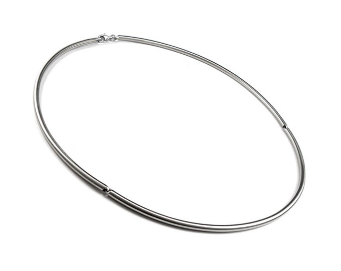 Stainless Steel Wire Necklace Ideal for Pendants and Charms