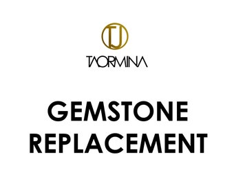 Gemstone Replacement for Taormina Gemstone Jewelry