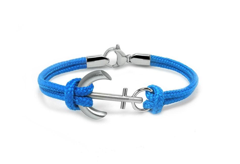 Sailor Bracelet sailing bracelet Mens Nautical Bracelet Mens Anchor Bracelet gift for him Name bracelet Personalized Anchor Bracelet