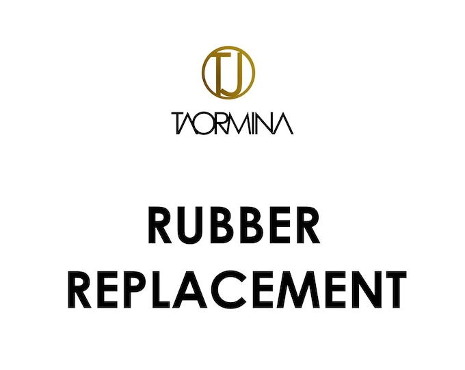 Rubber and Textile Cord repair/replacement service for Necklaces & Bracelets made by Taormina Jewelry