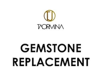 Gemstone Replacement for Taormina Gemstone Jewelry by Taormina Jewelry