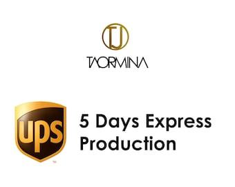 5 DAYS Express Production by Taormina Jewelry