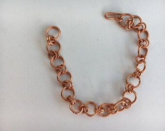 Mens bracelet, Copper