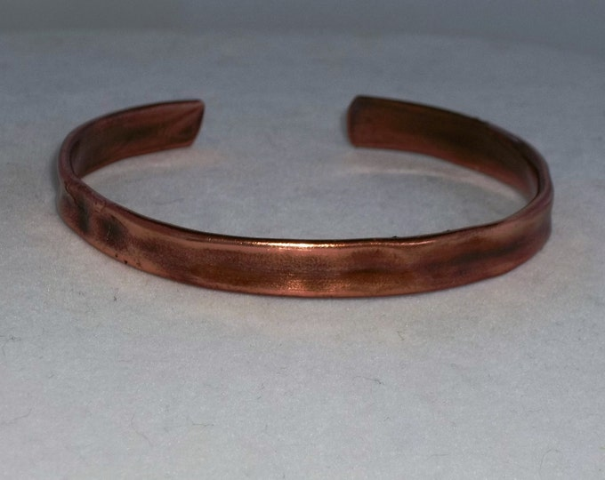 Men's Copper Cuff, Hardware store materials for the MAN-ly Man