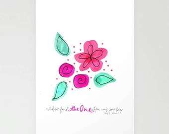 Song of Solomon Blank Card