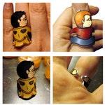 Supernatural Castiel ring
