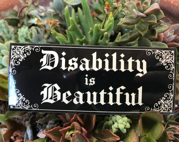 Disability is Beautiful Sticker