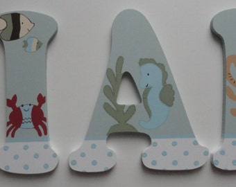 Sea World Wall Letters