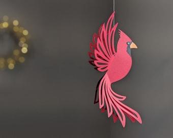 Cardinal SVG, Hanging Cardinal Decoration